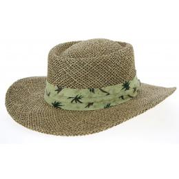 Chapeau Gambler Mulligan Paille Naturelle- Traclet