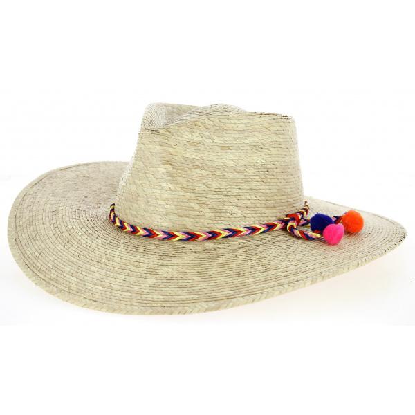 Chapeau Traveller Malibu Paille- Traclet