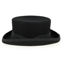 Chapeau Demi Haut de Forme Feutre Laine Noir- Fléchet