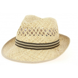 Denis Trilby Hat Natural Straw - Traclet