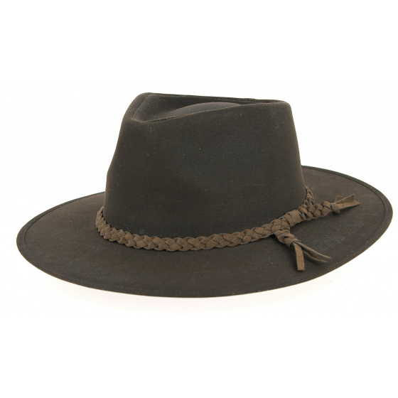 Chapeau Traveller Whitfield Brun - Aussie Apparel
