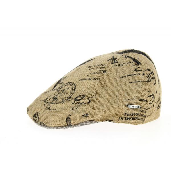 Casquette Bombée Nerone Jute & Coton Naturelle- Traclet