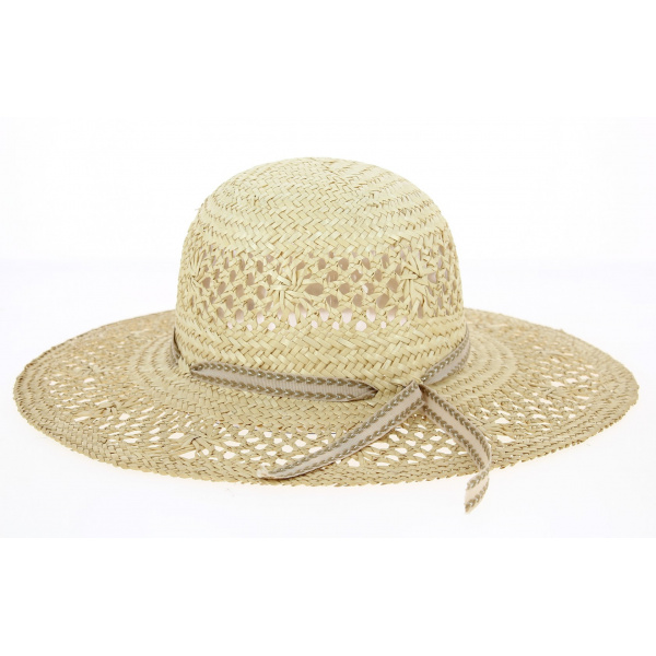 Rosie hat  in straw  Traclet