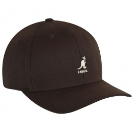 Brown Flexfit Baseball Cap - Kangol