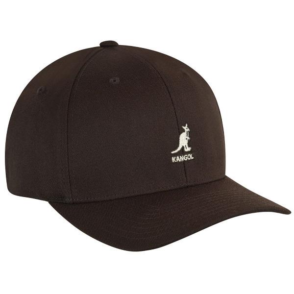 Casquette Baseball Flexfit Marron- Kangol