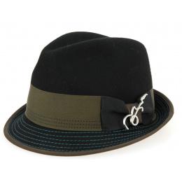 Chapeau Trilby Carlos Santana - Noir