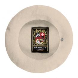 Authentic Summer Beret Natural Cotton - Heritage by Laulhère