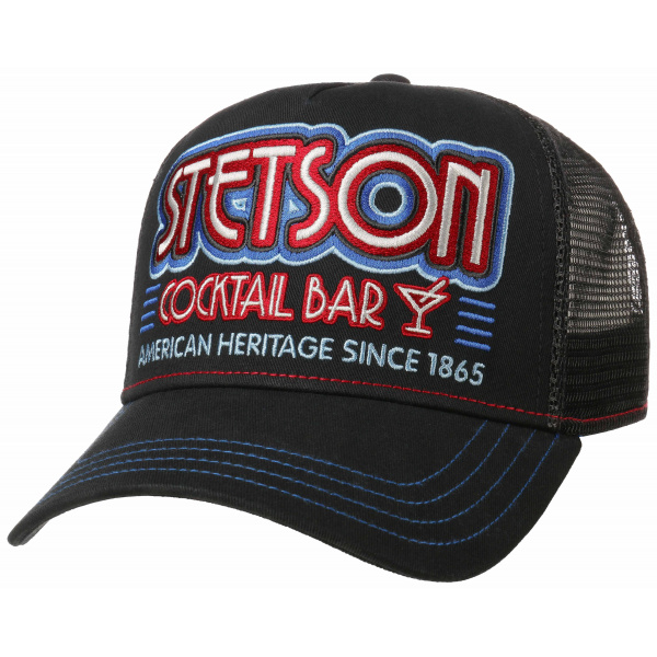 Casquette Trucker Cap Cocktail Bar - Stetson