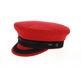 Casquette Marin Camaret Rouge Grenat-Traclet