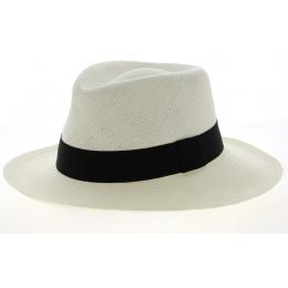 Chapeau Panama Quevedo  Larges Bords Blanc- Traclet