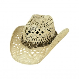 Chapeau Cowboy Naughty Girl Naturel- Bullhide