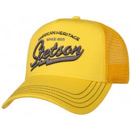Trucker American Heritage Yellow Trucker Cap - Stetson