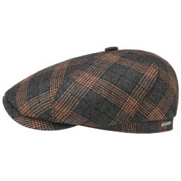 Brooklin Grey Tile Wool Cap - Stetson
