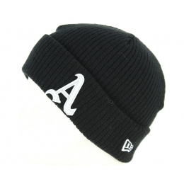 Bonnet Fisherman Acrylique Noir- New Era