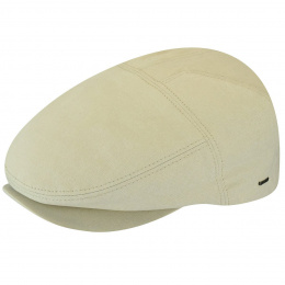 Casquette Plate Keter Coton Beige- Bailey