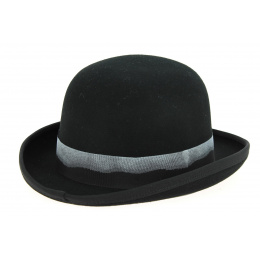 Chapeau Derby Feutre Laine Noir- Hatland