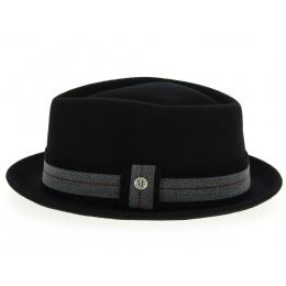 Wool Felt Player Hat Black - Flechette