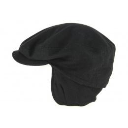 Black Wool Traclet Cap - Traclet