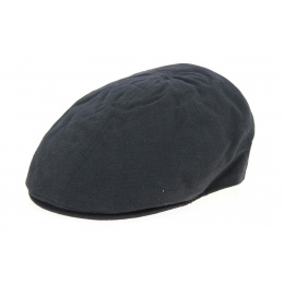 Duck Beak Cremona Black Cotton Cap - Traclet
