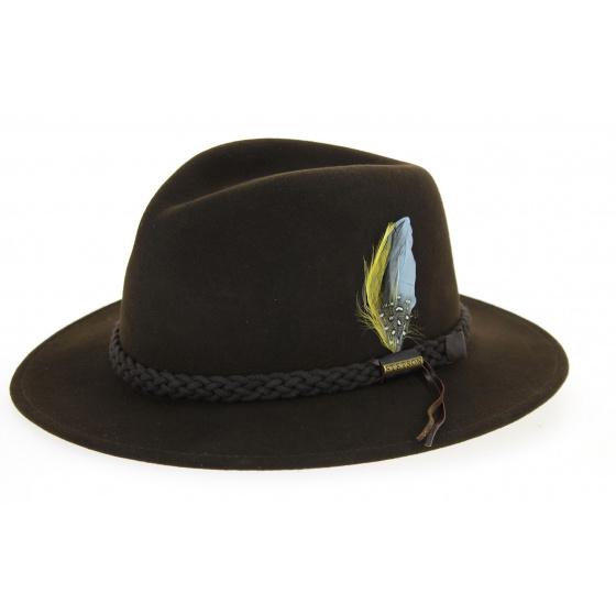 Stetson Newark hat brown