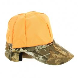 Reversible hunting cap with earmuffs Fléchet Paris