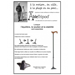 Able Tripod Cane Base by L.a. Care