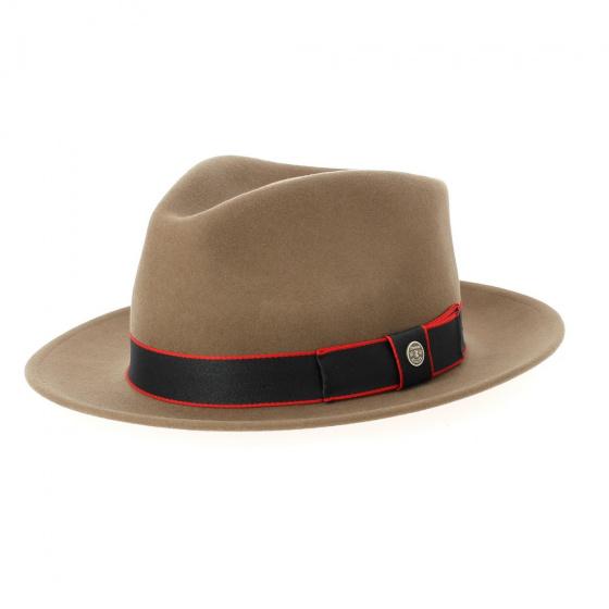 Fedora Cordele Wool & Cashmere Beige Hat - Stetson