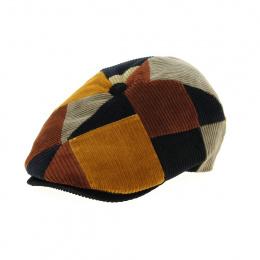 casquette patchwork velours
