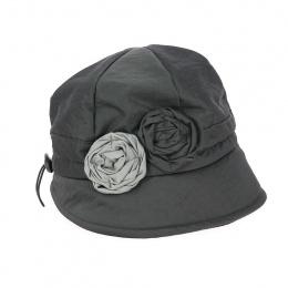 Chapeau Cloche de Pluie Erika gris - Traclet