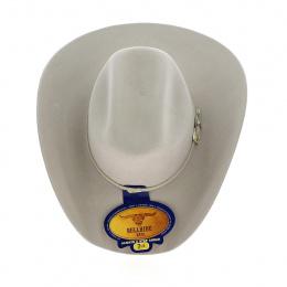 Western hat - Country Silvertone Beige