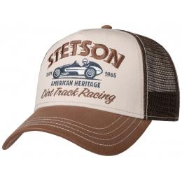 copy of Casquette Baseball Trucker Dirt Track Racing Bleu & Jaune Coton- Stetson
