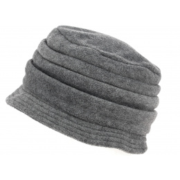 Chapeau Cloche Polaire Anushka Gris - Traclet