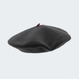 beret mode gris roche femme