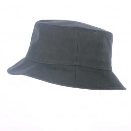 Bob Imperméable Coton Noir- Traclet