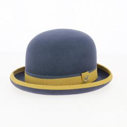 Chapeau Melon en Feutre Laine Noir- Fléchet