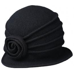Chapeau Cloche Ambra Feutre Laine - Traclet
