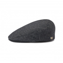 Hooligan Cap Black Grey - Brixton