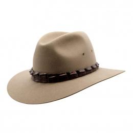 Chapeau traveller Coolabah beige - Akubra