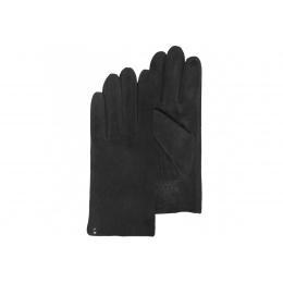 Gants cuir noir - Isotoner