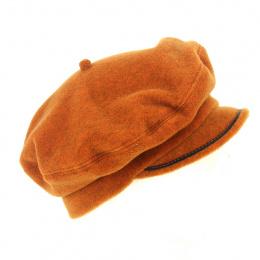 Polar rust cap beret - Traclet