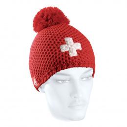Bonnet Rouge Pompon Suisse - LeDrapo
