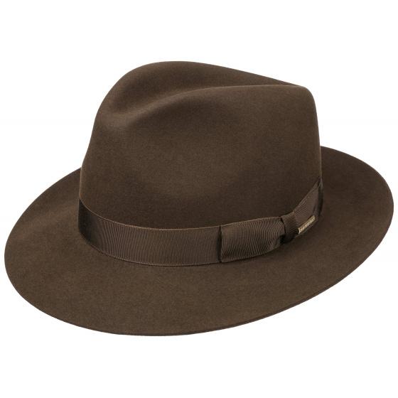 Bogart Penn Brown Hat - Stetson