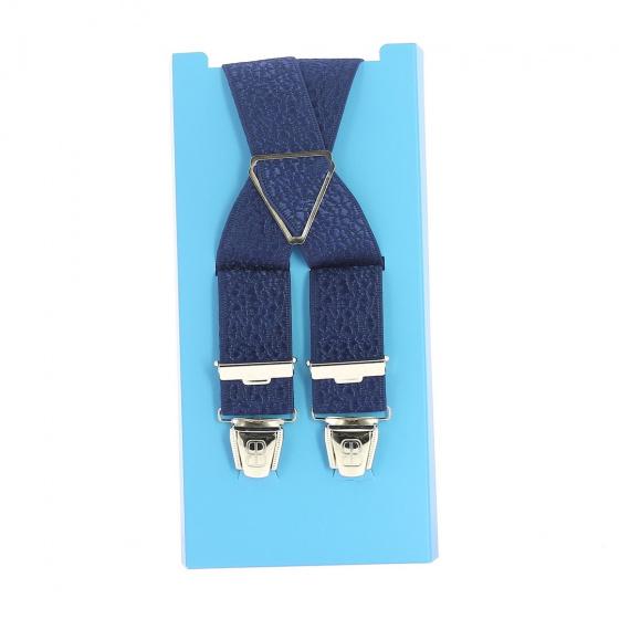 Navy blue suspender