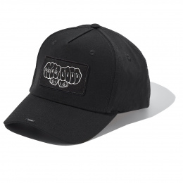 Casquette Black full Cotton Cap with EQUALITY badge