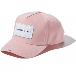 Casquette Baby Pink Full Cotton HOPELESS LOVER badge