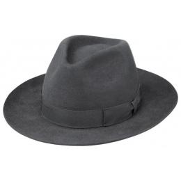 Chapeau Bogarte Feutre Poil Anthracite