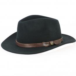 Chapeau de France Traveller Feutre Laine Noir - Traclet