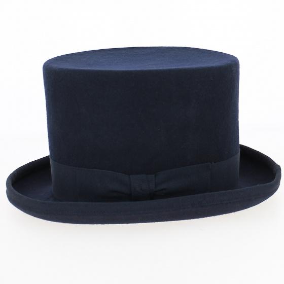 Felt Wool Top Hat Blue- Guerra