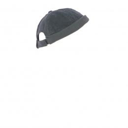 Black velvet miki hat