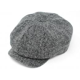 Casquette Irlandaise Dundalk Laine Grise- Hanna Hats